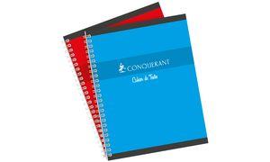 CONQUERANT SEPT Cahier de textes reliure intégrale, NF56,