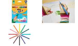 BIC KIDS Dreikant-Buntstifte Evolution Triangle, 12er Etui