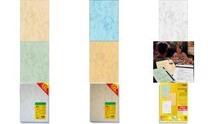 Marmor-Papiere