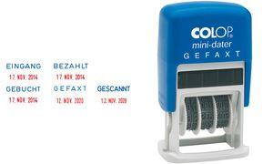 COLOP Datumstempel Mini Dater S160 L1