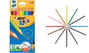 BIC KIDS Buntstifte Evolution ecolutions, 12er Kartonetui