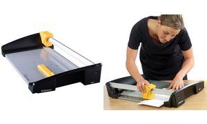 Fellowes Rollen-Schneidemaschine Atom, DIN A3, schwarz/gelb