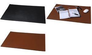 Alassio Schreibunterlage, Echtleder, schwarz, 650 x 450 mm