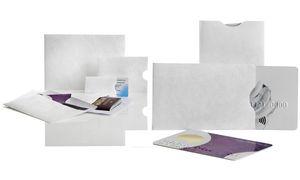 Tyvek Scansafe Security Kreditkarten-Hülle, 87 x 57 mm, weiß