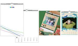 Kreativkalender, A4