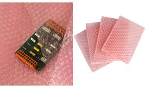 TAP Luftpolsterbeutel, 240 x 320 mm, antistatisch, rosa