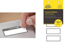 Inventar- & Eigentumskennzeichnung