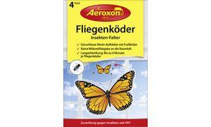 Aeroxon Fliegenköder Insekten-Falter, selbstklebend, 4er Set