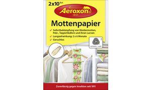 Aeroxon Mottenpapier, Inhalt: 2 x 10 Blatt