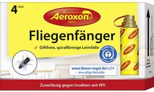 Aeroxon Fliegenfänger, 4er Set