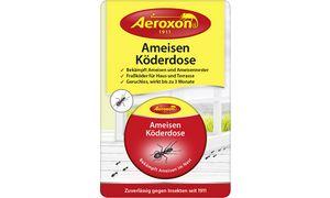 Aeroxon Ameisen Köderdose, trittfeste Metalldose