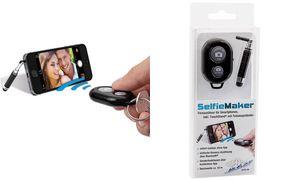WEDO Selfie Maker, Fernauslöser für Smartphones, schwarz