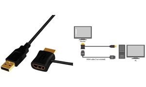 HDMI: Kabel & Adapter